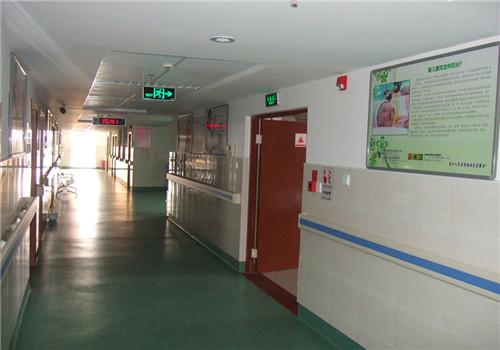 海门市第四人民医院体检中心走廊