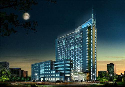 东南大学附属第二医院体检中心夜景