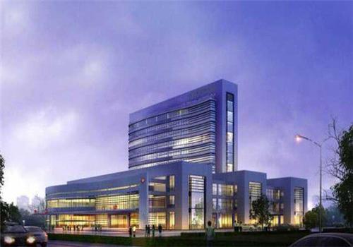 宜兴市官林医院体检中心夜景图