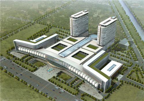 徐州市第二医院体检中心鸟瞰图