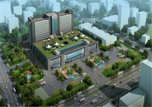 徐州贾汪区人民医院体检中心鸟瞰图