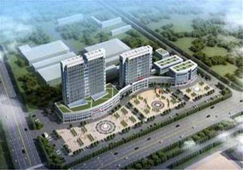 鱼台县中医院体检中心鸟瞰图