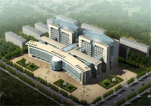 汶上县人民医院体检中心鸟瞰图