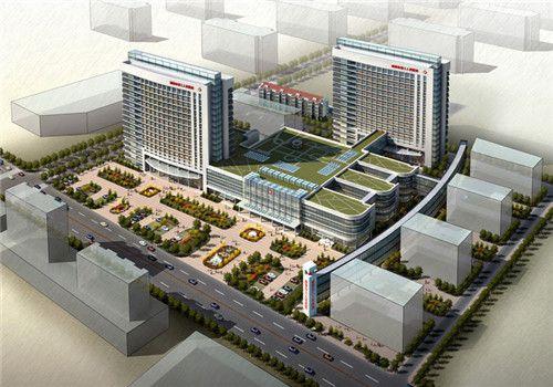新泰市第三人民医院体检中心鸟瞰图