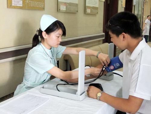无锡太湖中医院体检中心量血压