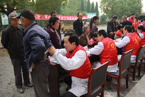 南京溧水区人民医院体检中心下乡义诊