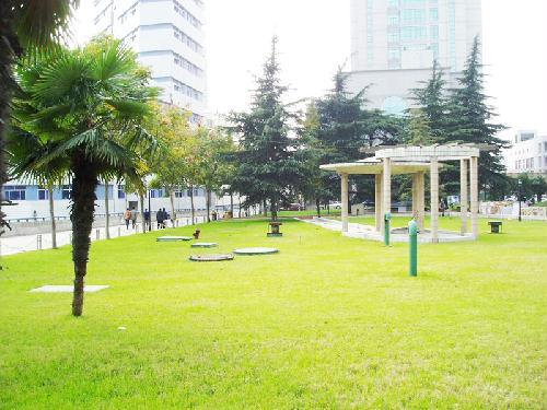 江蘇省人民醫院體檢中心醫院一角