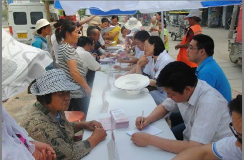 徐州市第六人民医院体检中心义诊活动