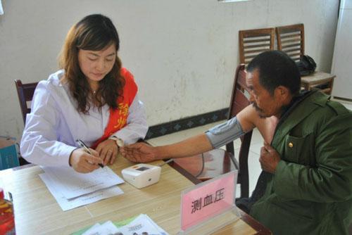 江苏省人民医院技术支持医院体检中心测血压