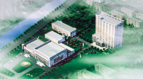 海门市人民医院体检中心鸟瞰图