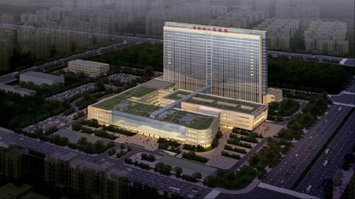 溧阳市第三人民医院体检中心效果图