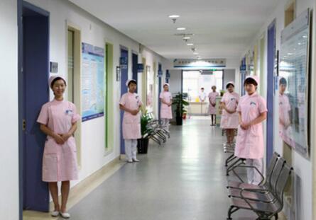 武汉TTM体检中心走廊