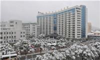 江苏无锡第四人民医院体检中心雪景